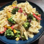 Broccoli and Bow-Tie Pasta Salad