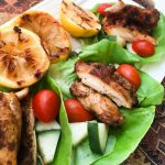 Shawarma-Spiced Chicken Wraps