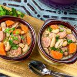 Rustic Chicken & White Bean Stew