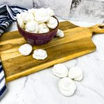 Almond Meringue Cookies - Low Carb